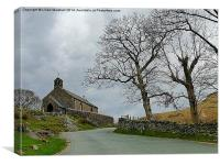 St James Church -Buttermere, Canvas Print
