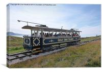 The Great Orme Tramway., Canvas Print