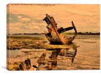 Fleetwood Wrecks. , Canvas Print