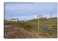 Great Orme Summit . , Canvas Print