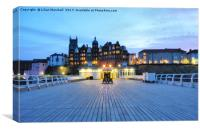 Hotel de Paris . Cromer. , Canvas Print