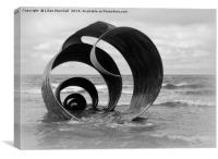 Marys Shell, Cleveleys. , Canvas Print