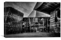 The Lowry Theatre Salford Quays, Canvas Print