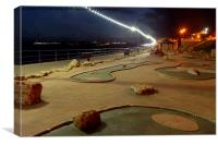 CRAZY GOLF ANY ONE , Canvas Print