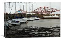 QUEENSFERRY HARBOUR, Canvas Print