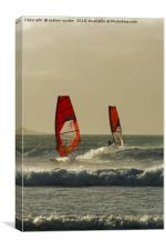 TWO FOR ONE, Canvas Print