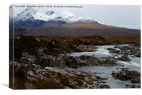 WHITE TOP CUILLINS , Canvas Print