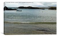 TREARDDUR BOATS, Canvas Print