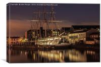 The SS.Great Britain., Canvas Print