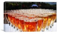champers, Canvas Print