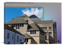 York Modern architecture out of bounds, Canvas Print