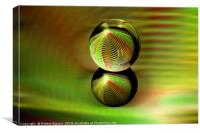 Rolling orb, Canvas Print