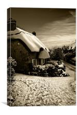 Winter Cottage IW Canvases & Prints, Canvas Print