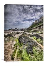Tenby Rocks 3, Canvas Print