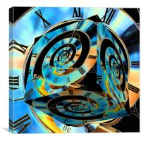 Time Cube to Infinity, Canvas Print