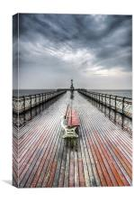 Penarth Pier 6, Canvas Print