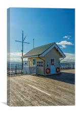 The Piermasters Hut, Canvas Print