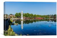 Roath Park Lake 4, Canvas Print