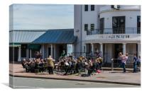 Brass Band At The Pier, Canvas Print