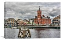 Cardiff Bay Skyline, Canvas Print
