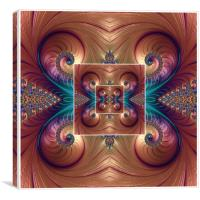 Infinite Spirals , Canvas Print