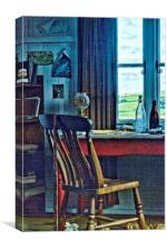Dylan Thomas Writing Shed 1, Canvas Print