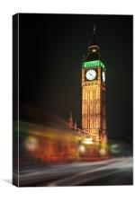 Big Ben Blur, Canvas Print