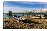 Selsey Lifeboat Station, Canvas Print