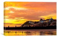 Sunrise Sheringham, Canvas Print