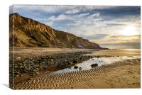North Norfolk Cliffs, Canvas Print