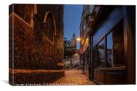 St Gregory's Alley, Canvas Print