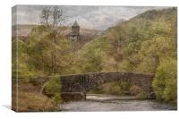Elan Valley. , Canvas Print