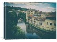 River Avon., Canvas Print