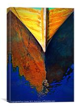 Wooden Reflections II, Canvas Print