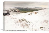 Vale of Edale, Peak District, Canvas Print