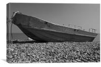 Old Blue at Deal, Canvas Print