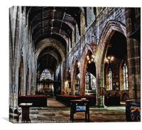 St Nicholas's Cathedral, Canvas Print