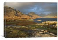 Wastwater in winter light, Canvas Print