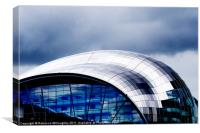 The Sage in Blue, Canvas Print