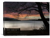 Remembering Campbell At Coniston, Canvas Print