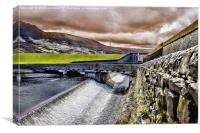 The Spillway, Canvas Print