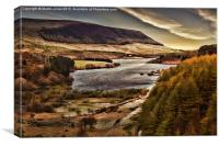 Torside in Longdendale, Canvas Print