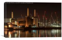 Battersea - A London Icon, Canvas Print
