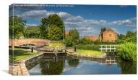 Shaw Lock, Canvas Print