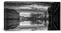 York Reflects, Canvas Print