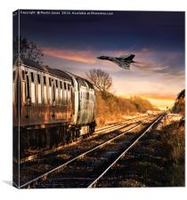 Iconic British Engineering at Its Best, Canvas Print