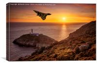 Vulcan over The Stack - Ynys Mon, Canvas Print