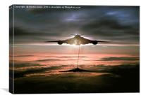 Fueling the Vulcan, Canvas Print