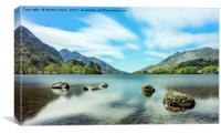 Loch Shiel, Canvas Print