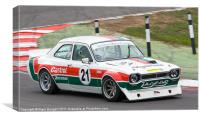 Ford Escort 2000, Canvas Print